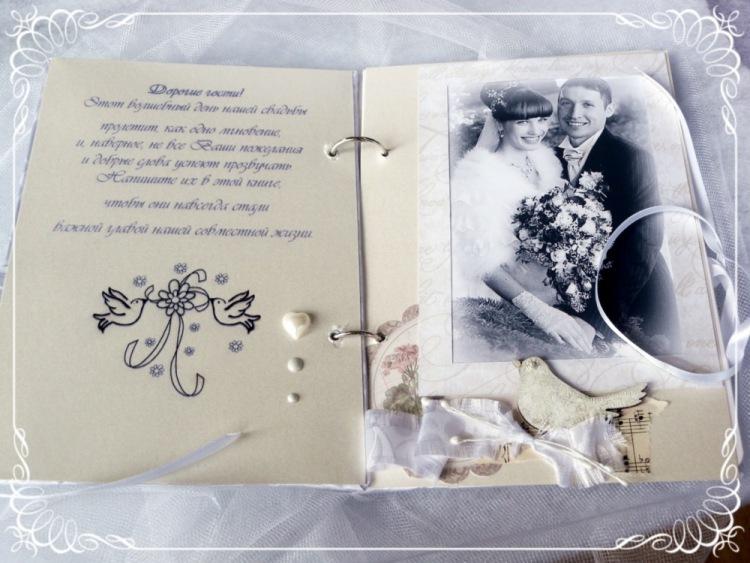 Как оформить поздравление на свадьбу своими руками