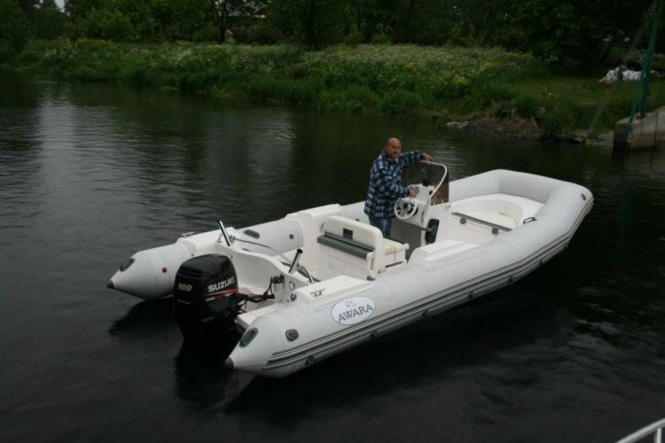тех характеристики моторной лодки тренер