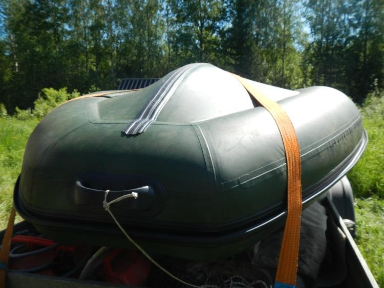 Бак для лодки пвх  видео