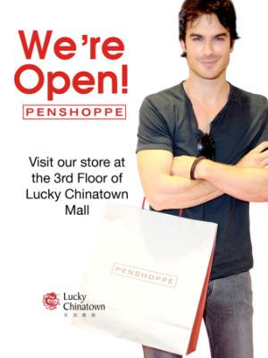 Новые фото Йена для Penshoppe