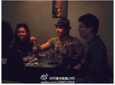 Йен и Нина в Шанхае
