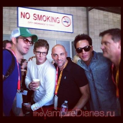 The Vampire Diaries Panel Comic-Con 2012 & Autograph Signing [14 июля]