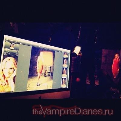 Фото со съемок фотосессии 4 сезона
