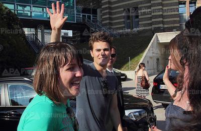 Пол и Майкл в Вене [17 июня]