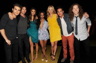 Teen Choice Awards - Backstage & Audience + видео