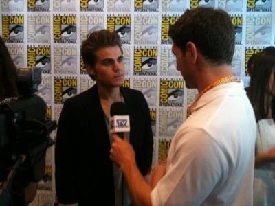 Press conference during 2012 Comic-Con [14 июля]
