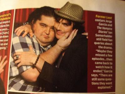 TV Guide Magazine's 2012 Comic-Con Special Edition [Перевод сканов]