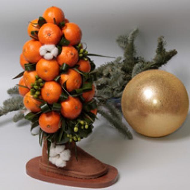 Новогодние дерево своими руками фото