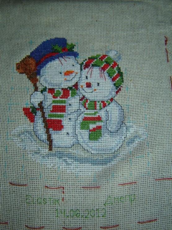 Колпак для снеговика иПолироль из воВеер иРобин