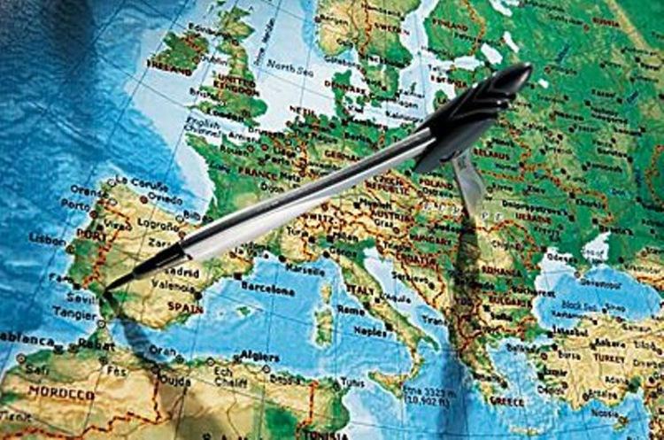 Центр европы где находиться