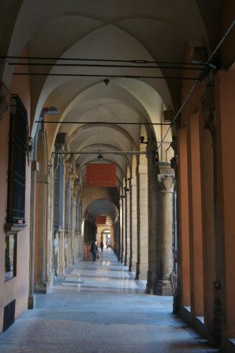 И еще галереи Болоньи.