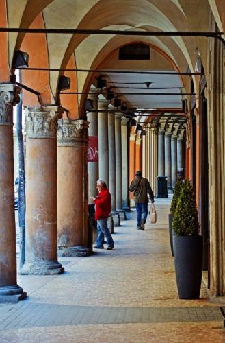 Болонья - город галерей.