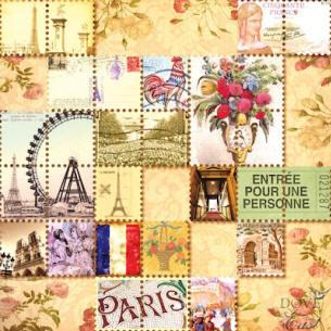 Картинки для декупажа париж