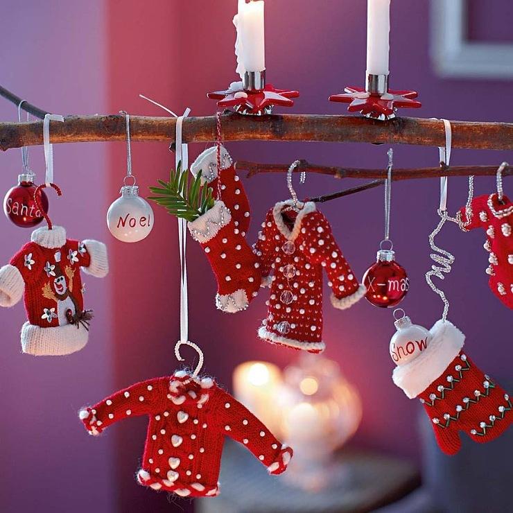 Идеи для украшения дома к новому году своими руками фото