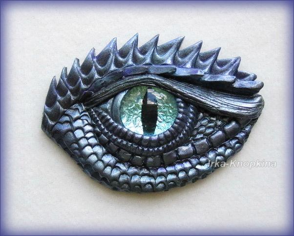 Как сделать глаз дракона своими руками