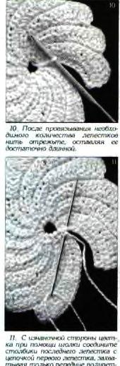 爱尔兰花边花型  10:浮雕螺旋花图案 - maomao - 我随心动