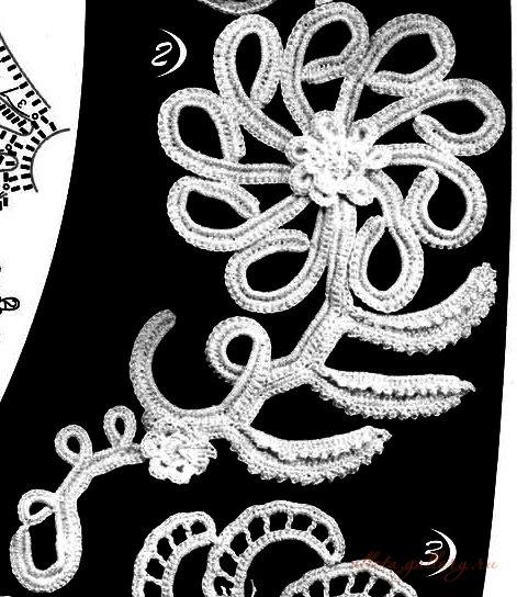 爱尔兰花边花型  12:海葵花 - maomao - 我随心动