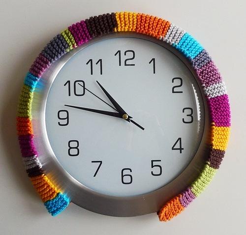 Как украсить часы