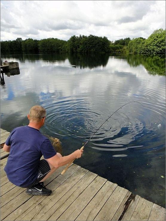 клевая рыбалка пантелеймоновка