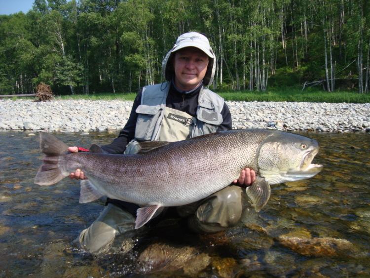 тайга рыбалка в красноярском крае