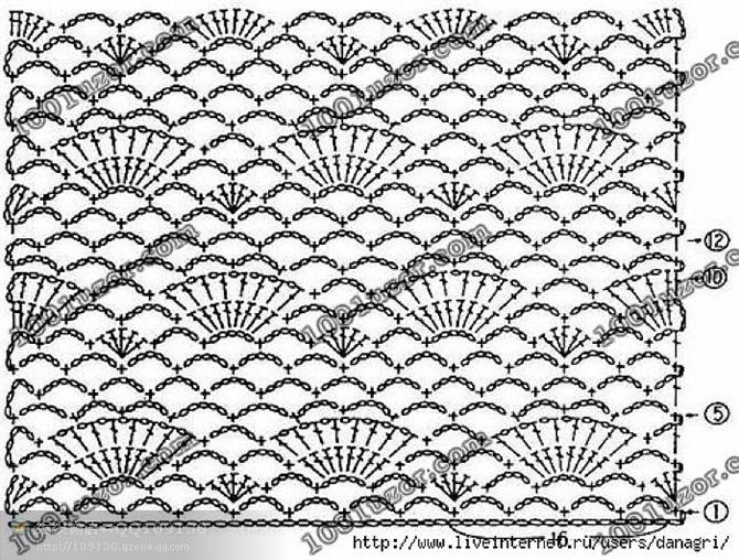 Кофта связана спицами 4 и 3,5. узором Листья.Схема вязания кофты