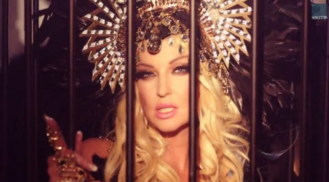Анастасия Волочкова сняла свой первый музыкальный клип