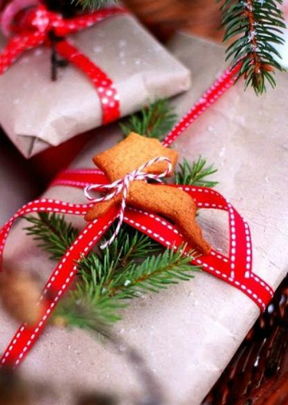 Как красиво упаковать новогодний подарок