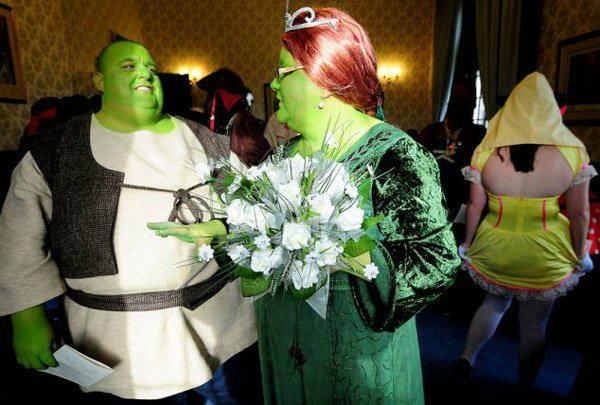 Сказочная свадьба Шрека и Фионы