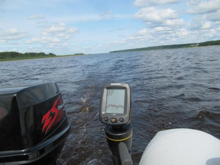 эхолоты без лодки видео